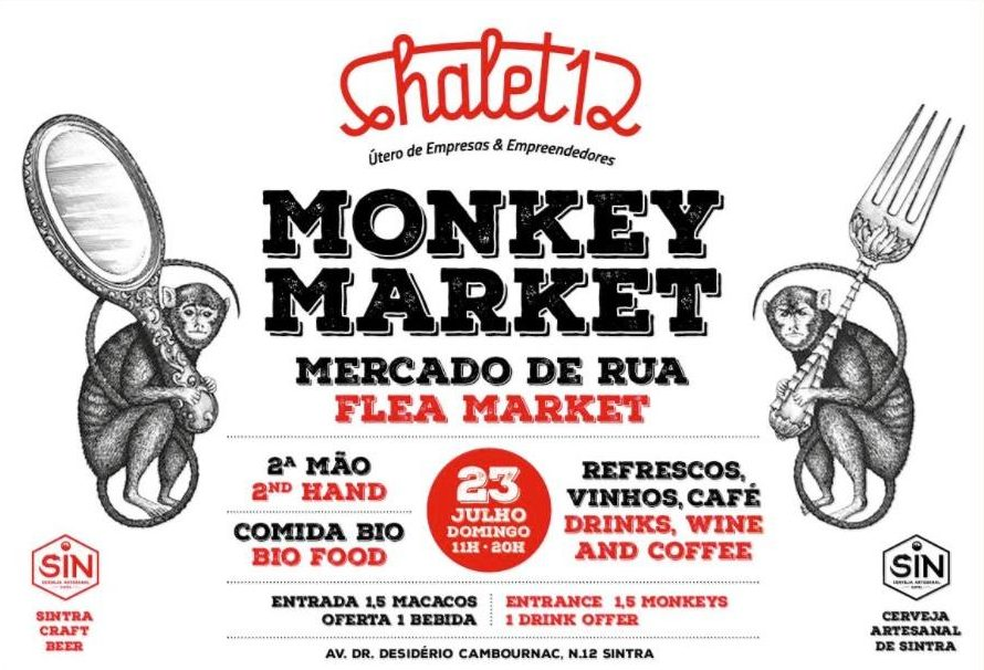 Monkey Market no Chalet 12